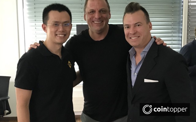 Changpeng Zhao, the CEO of Binance Creates a Buzz On Meeting With Senior Vice President of Ripple