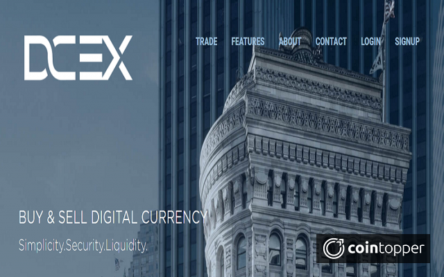 DCEX Launches Its First Ever Crypto Exchange Using XRP As The Base Currency