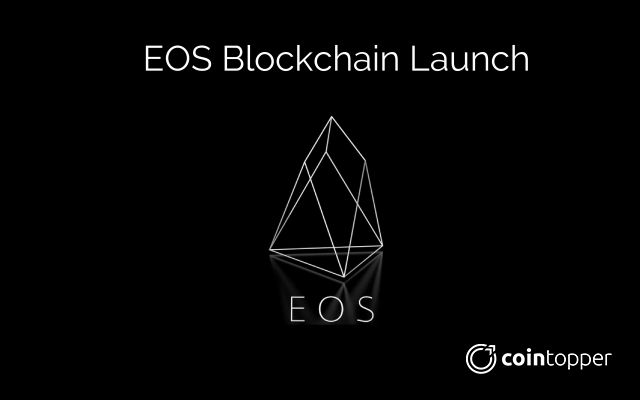 Everything you should know about EOS, on its Blockchain Launch Today!